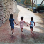 Michael Ferrari triple A painting