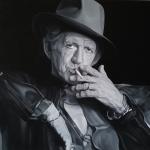 Michael Ferrari keith richards painting