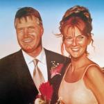 michael j ferrari painting 7 lanny & wife
