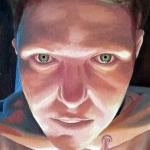michael ferrari selfie painting 2