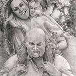 micheal ferrari crosshatch drawing 2